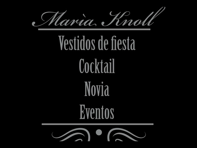 MARIA KNOLL